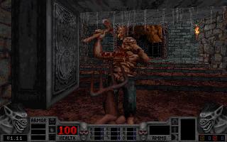 Blood game at DOSGames com